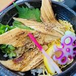 さしみ屋 - 焼き穴子丼¥1200-