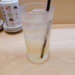 金沢回転寿司 輝らり - 柚子はちみつサワー