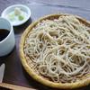山里の蕎麦 福玄 - 料理写真:こだわりの【ざるそば】
