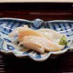 片折 - 青バイ貝