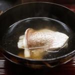 片折 - 小鯛と煮麺のお碗