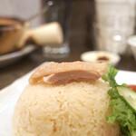 カフェ・シンガプーラ 海南鶏飯 - チキンライスマリアージュ