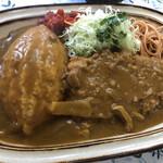 煉瓦亭 - 料理写真:特製カツカレーライス