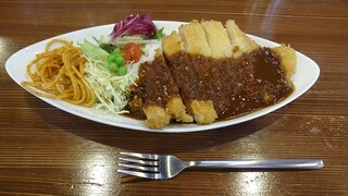 カメノ食堂 - カツライス