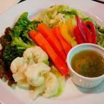 ジャンキーズ - 温野菜のサラダ