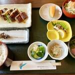 うなぎの尾方 - 定食(桃)