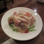 デリツィオーゾ フィレンツェ - パルマ産生ハムのサラダ