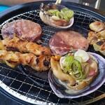市場直結 柳橋ビアガーデン - BBQ