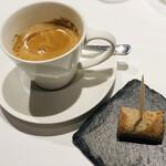 メゾン・バルサック - エスプレッソ 蕎麦粉のガレット 黒糖風味