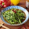 龍泉亭 - 料理写真:空心菜蝦醤油