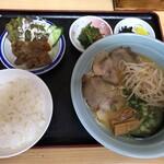 一番亭 - 料理写真:ラーメン定食