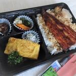 鰻料理専門店 曳馬野 - うなぎ弁当 半身?