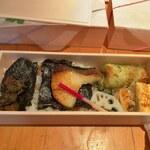 料亭きよし - 海苔弁当(1000円)