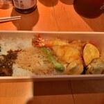 料亭きよし - 天丼(1500円)