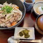 さんれーく - 料理写真:味噌豚生姜焼き定食@920円(税抜)