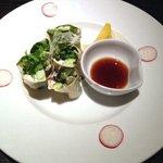 夢や京恋しずく - 蟹と水菜の生湯葉春巻き