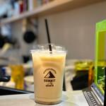 SUMMIT OF THE MOUN10 - ドリンク写真:ほうじ茶ラテ