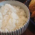 カド珈琲 - ご飯(大盛り)