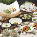 玄品ふぐ 左右海 - 含めたふぐ料理の王道を一通り食べられる【醍醐コース】4980円