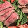 案山子 - 料理写真:牛たたきサラダ。