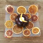 ヤマ ベイクド - オレンジチョコレートムース