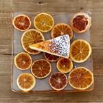 ヤマ ベイクド - パッションフルーツのチーズケーキ