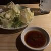 炭焼串庵 秀 - 料理写真:お通し キャベツ