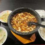 131107932 - 炎の石焼麻婆豆腐