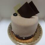 チョコレートサロン タカナワ - チョコレート×キャラメル ケーキ