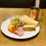エスタシオン カフェタイム - お料理
