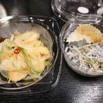 珍味堂 - 鶏の南蛮漬とシラス☆ 2020-0601訪問
