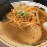 東京豚骨 じゃんだら - 辛ネギ醤油ラーメンです。