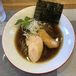 Mari iida - 生中華そば(細麺)