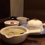 タイ料理&アジアンダイニング スパイスリップ - グリーンカレーのランチセット