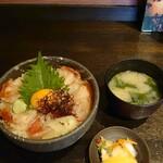 やまや - 料理写真:金目鯛の炙り漬け丼