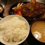 レストラン喫茶 タクト - おろしハンバーグ定食 950円