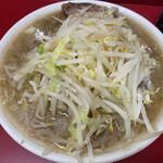 ラーメン二郎 - 大ラーメン 野菜ニンニクコール