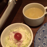 タイ料理&アジアンダイニング スパイスリップ - サラダとスープ