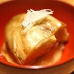 高太郎 - 大阪産の丸茄子の焼き浸し
