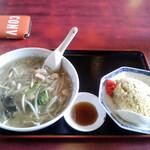 珍竹亭 - 料理写真:ダル麺 セット