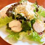 カリーナ カリーナ - 追加オーダー。大山鶏のサラダ
