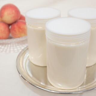 桃の冷製ポタージュ