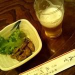 池川 - 料理写真:おつまみに美味しい煮肝はいかが?