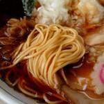 味幸 - 麺アップ
