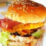 ウェディングパーク 原町フローラ - 料理写真:SOMAバーガー