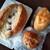 プス - 料理写真:やはり、コッペパンは、でかいですね。(笑)