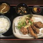 131139667 - 淡路 鶏から揚げ定食