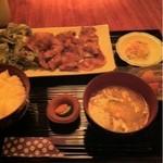 13114172 - イベリコ豚生姜焼き定食