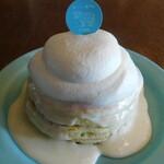生クリーム専門店MILK CAFE - 究極の生クリームのミルクパンケーキ