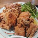 曲宴 あぎ - 個数を選べる鶏の唐揚げ定食